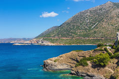 Natural landscape of the island of Crete Stock Image