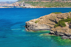 Natural landscape of the island of Crete Stock Images