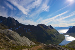 Natural landscape on Lofoten Royalty Free Stock Photos