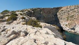 Natural landscape of Malta Stock Images