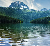 Natural landscape. Mountain lake, Montenegro, Durmitor national Stock Photo