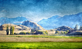 Natural landscape Royalty Free Stock Images