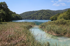 Natural landscape in Plitvice, Croatia Royalty Free Stock Photography
