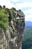 Natural landscape, Rupit, Spain. Natural landscape, cliff in Rupit, Barcelona, Spain Royalty Free Stock Photo