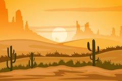 Natural Landscape of sand dune in Desert Royalty Free Stock Images