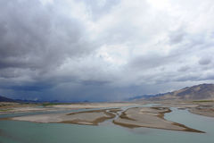 Natural landscape of Tibet Royalty Free Stock Image