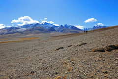 Natural landscape of Tibet Royalty Free Stock Photos