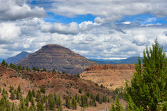 Natural Landscape view in Rural Grant County Oregon Royalty Free Stock Images