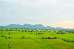 Natural landscape view. In Thailand Royalty Free Stock Photography
