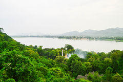 Natural landscape view. In Thailand Royalty Free Stock Images
