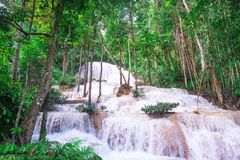 Natural landscape Waterfall Royalty Free Stock Photo