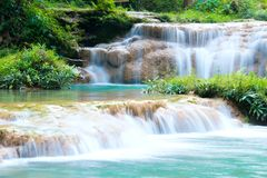Natural landscape Waterfall stock photography
