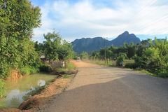 Natural landscapes,Laos royalty free stock images
