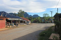 Natural landscapes,Laos royalty free stock photography