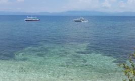 Translucent water Cebu island Philippines. Natural landscapes from Philippines Stock Images