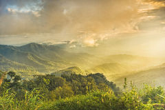 Natural landscapes. In phusoidao national Park in Thailand Royalty Free Stock Image