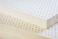 Natural latex mattress Royalty Free Stock Photo