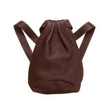 Natural Leather backbag Stock Photography