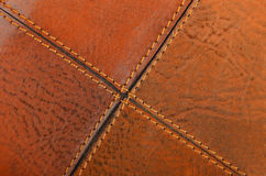 Natural leather background Stock Images