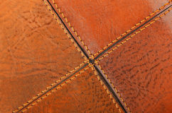 Natural leather background Royalty Free Stock Photo