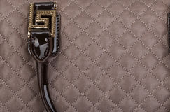 Natural leather female purse Royalty Free Stock Photo