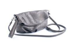 Natural leather handbag Stock Photo