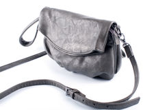 Natural leather handbag Royalty Free Stock Photo