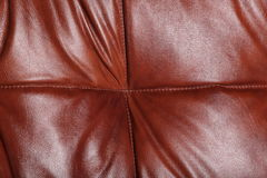 Natural leather texture Stock Images
