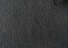 Natural leather texture stock image