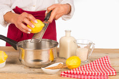 Lemon aroma Royalty Free Stock Images