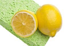 Natural Lemon Clean Stock Image