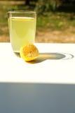 Natural Lemonade in the garden Royalty Free Stock Photo