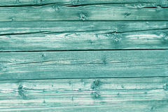 Natural light blue colored pine wood panels as background Stock Image