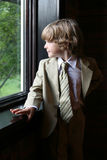 Natural light portrait of young boy Royalty Free Stock Photography
