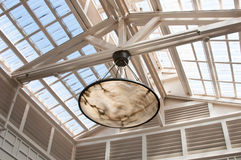 Natural Lighting Roof stock photography