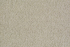 Natural linen fabric with brilliance golden lurex. Beige aida texture for the  background Stock Photography