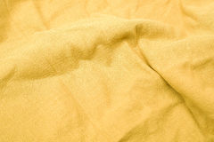 Natural linen fabric. Closeup Natural linen fabric background Royalty Free Stock Image