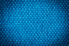 Natural linen fabric for embroidery. Blue color. Natural linen fabric for embroidery. Blue color Royalty Free Stock Image