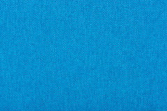 Natural linen fabric for embroidery. Blue color. Stock Photo