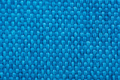 Natural linen fabric for embroidery. Blue color. Natural linen fabric for embroidery. Blue color Stock Photos