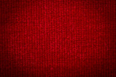 Natural linen fabric for embroidery. Red color. Natural linen fabric for embroidery. Red color Royalty Free Stock Photo