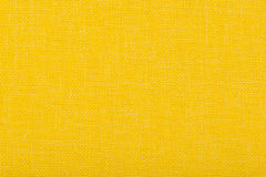 Natural linen fabric for embroidery. Yellow color. Natural linen fabric for embroidery. Yellow color Stock Photography
