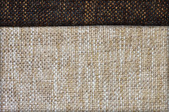 Natural linen fabric texture. For background Stock Photo
