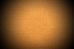 Natural linen gold material  background Royalty Free Stock Photos
