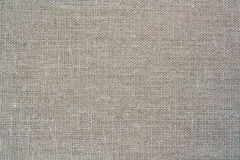 Natural linen gray bright material  background Royalty Free Stock Photos