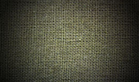 Natural linen green dark material  background Royalty Free Stock Photos