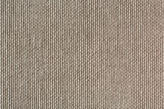 Natural linen striped uncolored textured sacking canvas backgrou Stock Photography