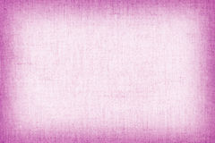 Natural linen texture for the background, pink colour. Royalty Free Stock Photography