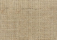 Natural Linen Texture Stock Photo