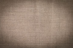 Natural linen texture Stock Images